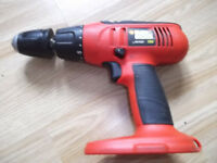 BLACK&DECKER 18 volt drill KC183F (Body only)