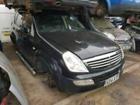 SsangYong Rexton 2.7 turbo diesel complete engine with turbo injectors