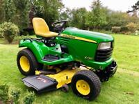 """John Deere X740 Ride on Mower - 54"""" deck - Lawn Tractor - Diesel - Kubota/Countax"""