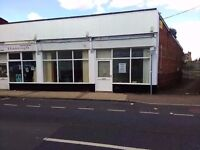 Double Fronted Shop with A5 permit also good for retail £5000 council grant may apply