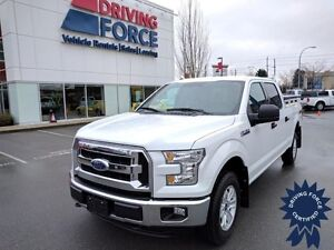 2015 Ford F-150 XLT Super Crew 4x4 - 38,564 KM, Short Box Truck