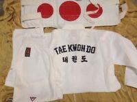 Taekwondo Martial Arts Kimono and Body Protector
