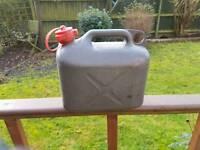 5L plastic petrol/diesel container