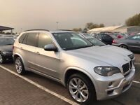 BMW X5 2009 M SPORT ** DIESEL ** PANORAMIC ROOF ** NAVIGATION ** 1 OWNER FROM NEW ** 2 KEYS