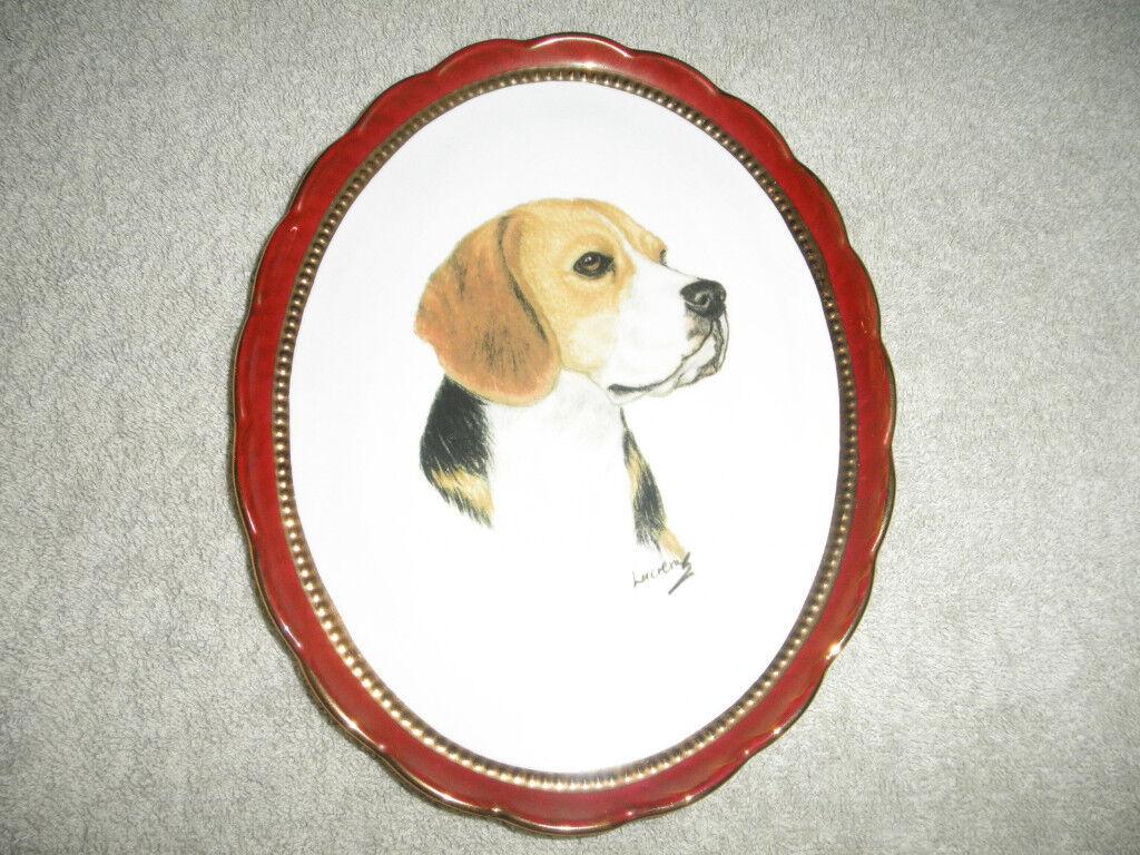 Collectors Plate Beagle
