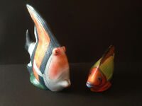Two Tropical Fish Ornaments