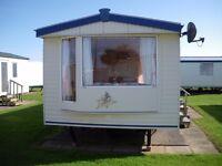 3 bedroom static caravan for sale on east Yorkshire coast (Aldbrough)