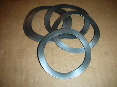 Black Metal Wavy Wave Spring Washers M55 55 X 70 X 0.7mm 2.165 X 2.785 5 Pcs