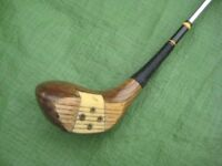 Number 2 Wooden Driver, Number 4 Wooden Driver and Metal Head Putter - £5.00 each