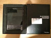 Blackberry Passport 4G LTE Unlocked Black - Excellent condition
