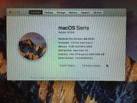 MacBook Pro Mid 2012, QuadCore i7, 2.3GHz, 15inch, 8Gb, CS5, OS Sierra + 7 Pro 64 bit