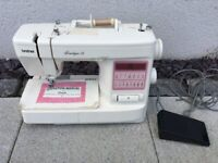 Brother Boutique 15 Sewing Machine with foot peddle