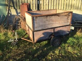 6ft x 4ft trailer / Stock trailer for spare or repair