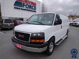 "2015 GMC Savana 135"" WB Cargo Van, Power Windows, Steel Wheels"