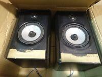 "Boston A25 bookshelf speakers (2 way, 5.25"")"