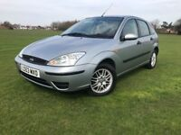 2004 FORD FOCUS 1.6 PETROL 5 DOOR 79.000 MILES