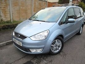 2008 GALAXY GHIA 2.0 TDCI 143 6G *GLASS ROOF* FORD 7 SEATS, S-MAX SMAX S MAX 1.8 ZETEC