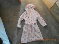 M&S dressing gown age 6-7 years