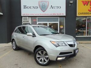 2011 Acura MDX ELITE, NAVIGATION, DVD, VERY LOW MILAGE