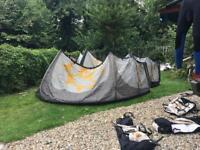 Slingshot fuel 7m & 9m kitesurfing kites
