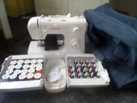 Sewing machine and bag