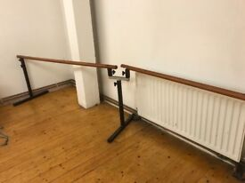 Hight Adjustable Free Standing Ballet Bars