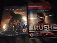 New rush Blu ray
