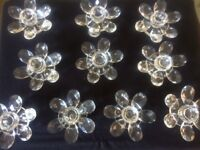 candle holders glass job lot of 30