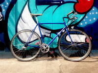 Vintage Bike - QUALITY hand built ITALIAN COLUMBUS Cromo24 Frame racing / road bike 22 inch frame