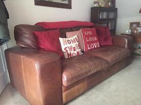Halo/Lush Leather Sofa's & Arm Chair