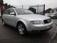 2002 Audi A4 1.9 TDI SE 5dr Estate, FULL SERVICE HISTORY, MOT 26/01/2019,WARRANTY & BREAKDOWN,£1,495