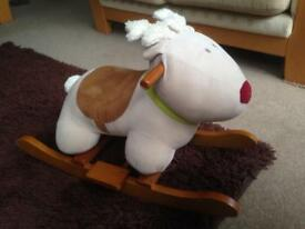 Ride-On Reindeer- Perfect for Xmas