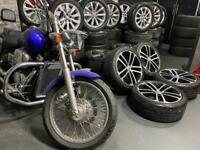 "18"" inch genuine Vw nogaro alloys wheels 5x112 gtd golf caddy Passat scirocco cc"