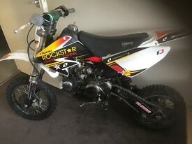 Stomp pit bike 125cc rockstar graphics