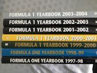 Formula 1 year books 1996-2004