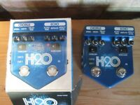 Visual Sound H2O v2 analogue Pedal Chorus and delay (Boxed as new)