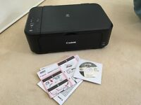 Cannon MG3550 (WiFi) All in One Air Print Printer, Like new hardly used!!