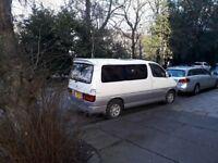 Toyota Granvia camper day van 2.7l petrol auto 1997