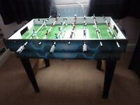 CHILDRENS MULTI GAMES TABLE .SOME PARTS MISSING.