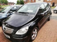 MERCEDES B200 CLASS 2008 5DR PANORAMIC ROOF