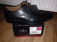 Jeff Banks 'Airsoft' shoes in Black (Size 10): Brand new model and barely used