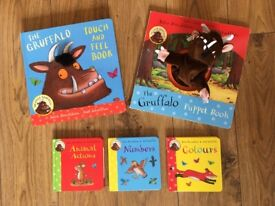 My first Gruffalo Books: babies / young toddlers, including touch & feel book & Hand puppet book