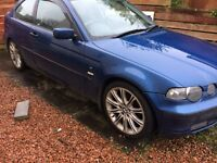 BMW 316 ti compact spares or repairs.