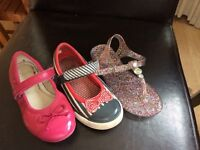 Bundle of girls shoes size 8--9