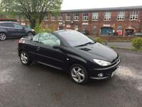 PEUGEOT 206cc 1.6 *LOW*MILEAGE*