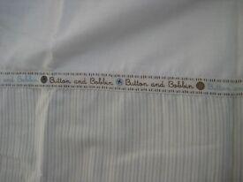 East Coast Nursery LTD, Button and Bobbin Unisex Nursery curtains