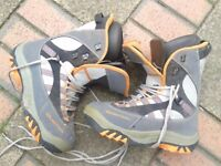 Quechua Snowboarding boots UK 9.5 - £60 [Burton board complete with Burton bindings for sale too]