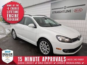 2014 Volkswagen GOLF WAGON Highline *LEATHER, SUNROOF*