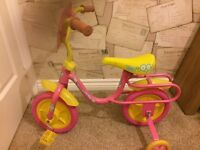 Childs fifi and the flower tots bike