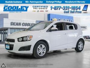 2014 Chevrolet Sonic 0.9% FINANCE/HTD SEATS/REMOTE START